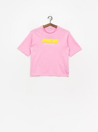 Tričko Puma Tz Wmn (pale pink)
