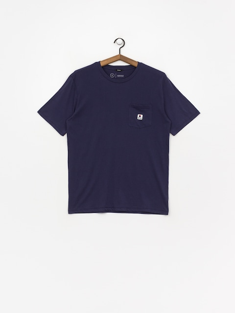 Tričko Brixton Stowell Pkt (patriot blue)