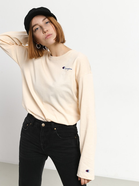 Triko Champion Premium Long Sleeve T Shirt LS Wmn