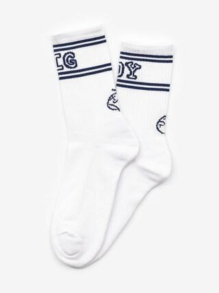 Ponožky Polar Skate Big Boy (white/navy)