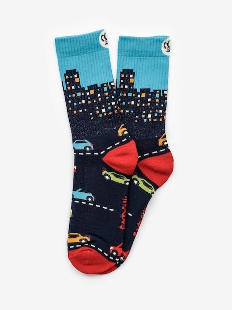 Ponožky Malita City (navy)