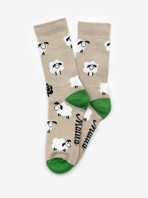 Ponožky Malita Sheep (biege)