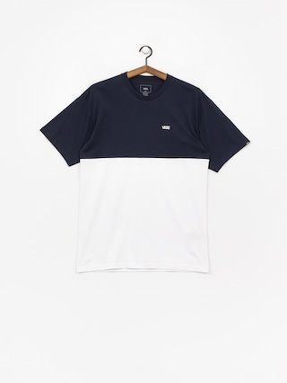 Tričko Vans ColorBlock (dress blues/white)