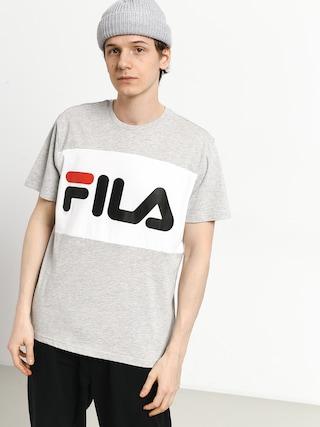 Tričko Fila Day (light grey melange bros/bright white)