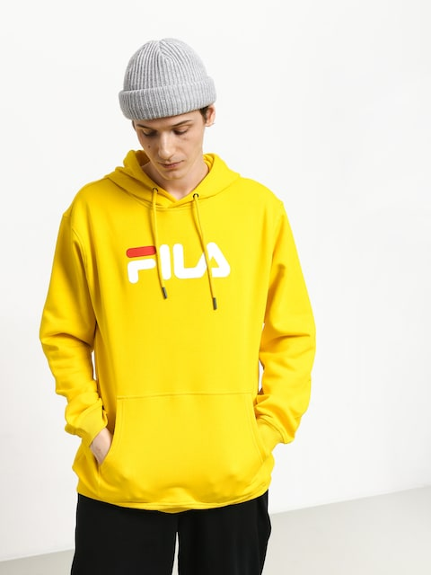 Mikina s kapucí Fila Pure HD (empire yellow)