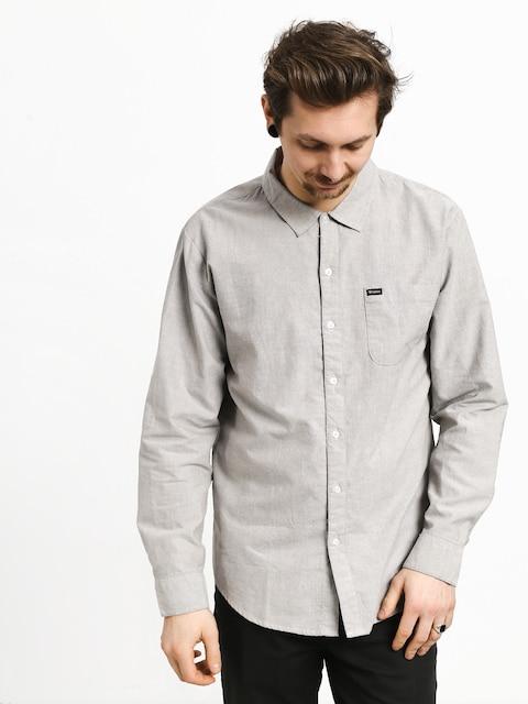 Košile Brixton Charter Oxford Wvn (grey)