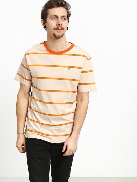 Tričko Brixton Deputy (orange/tan)