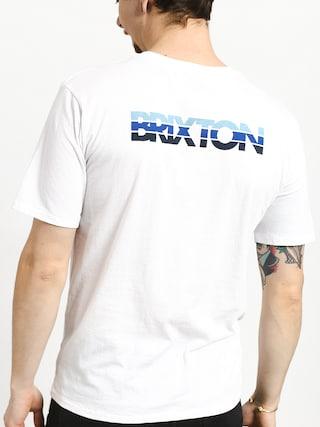 Tričko Brixton Interceptor II Prt (white)