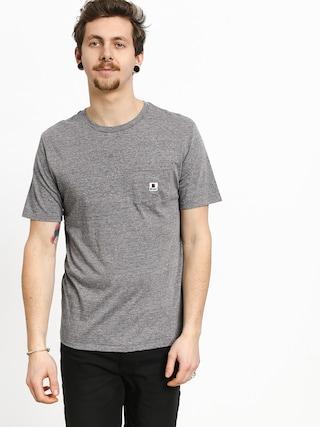Tričko Brixton Stowell Pkt (heather grey)