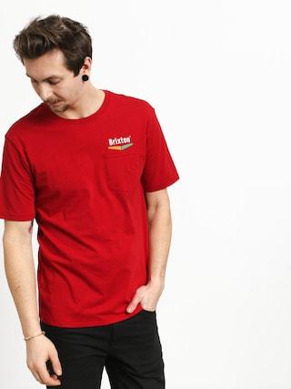 Tričko Brixton Velocity Pkt (scarlet)