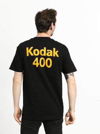 Tričko Girl Skateboard Kodak Gold 400 (black)