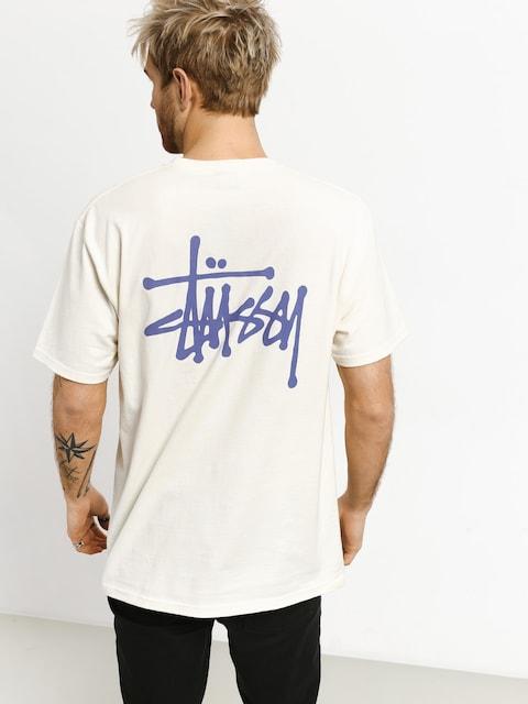Tričko Stussy Basic (vanilla)