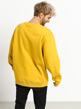 Mikina Stussy Arch App. (yellow)