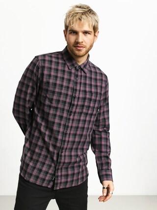 Košile Vans Alameda II (black plum/black)