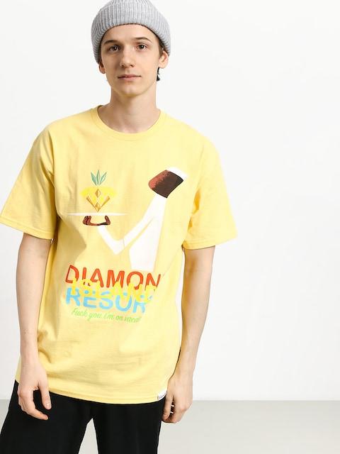 Tričko Diamond Supply Co. Diamond Resort