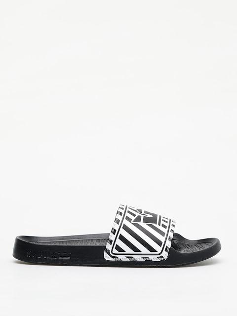 Plážovky Supra Lockup (black/white stripe)
