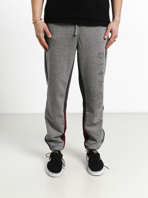 Kalhoty Diamond Supply Co. Fordham Sweatpants (heather grey)