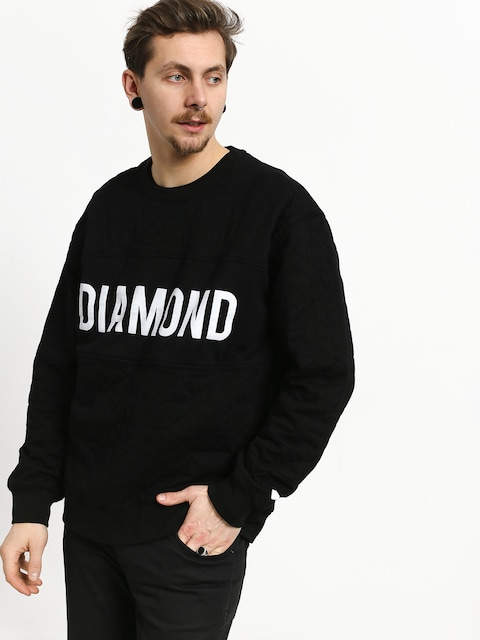 Mikina Diamond Supply Co. Diamond Quilted