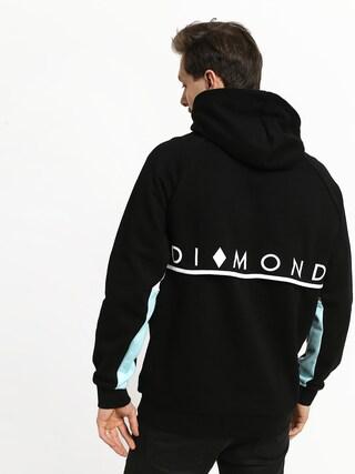 Mikina s kapucí Diamond Supply Co. Fordham HD (black)