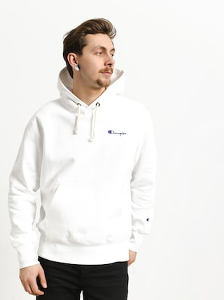 Mikina s kapucí Champion Reverse Weave Hooded Sweatshirt HD (wht)