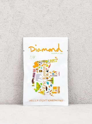 Šroubky Diamond Supply Co. Eric Koston Pro Hrdwr 7/8 (orange)