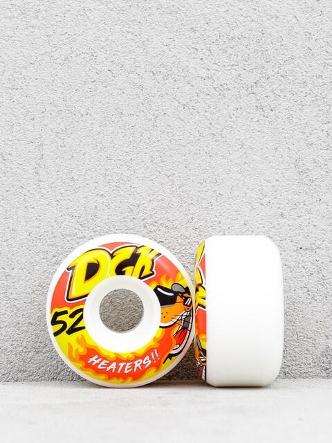 Kolečka DGK Heaters (white/orange)
