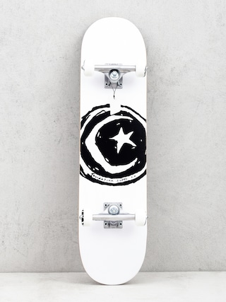 Skateboard Foundation Star And Moon (white/black)