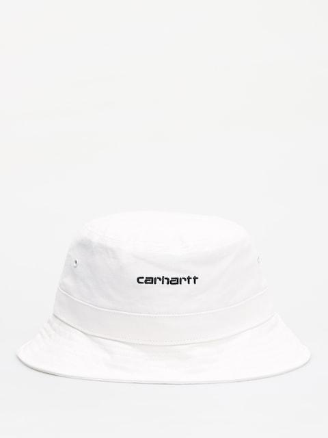 Klobouk Carhartt WIP Script (white/black)
