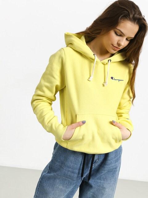 Mikina s kapucí Champion Premium Reverse Weave Hooded Sweatshirt HD Wmn (lml)