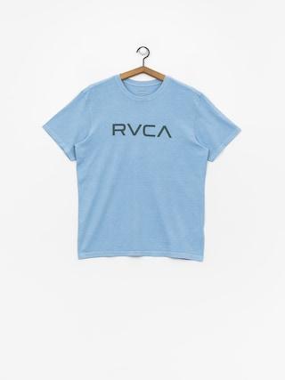Tričko RVCA Big Rvca (ether blue)