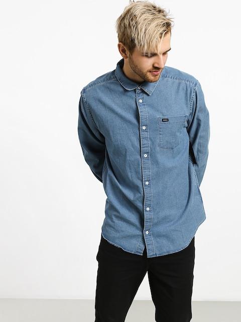 Košile RVCA Nakama (denim)