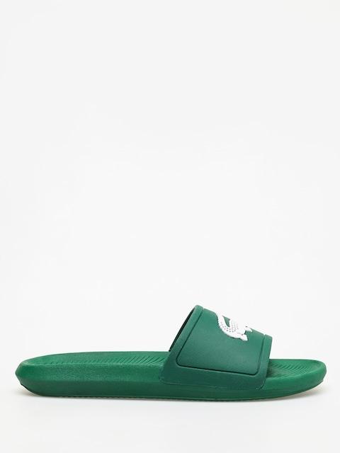 Plážovky Lacoste Croco Slide 119 1 (green/white)