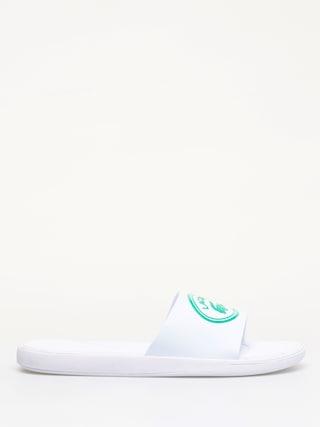 Plu00e1u017eovky Lacoste L.30 Slide 119 3 (white/green)