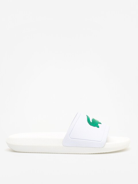 Plážovky Lacoste Croco Slide 119 3 Wmn (white/green)