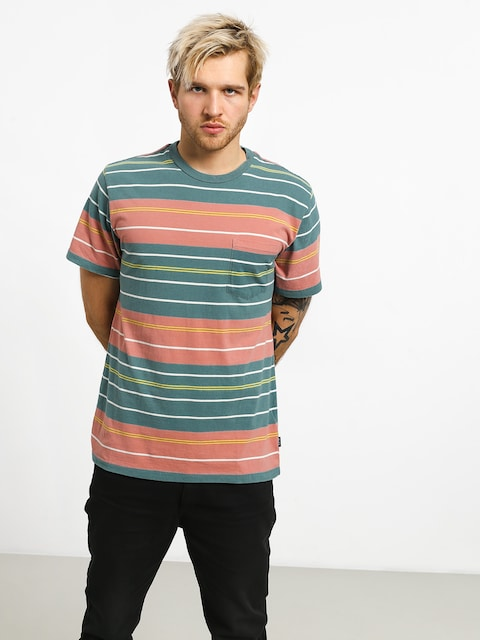 Tričko RVCA Rusholme Stripe
