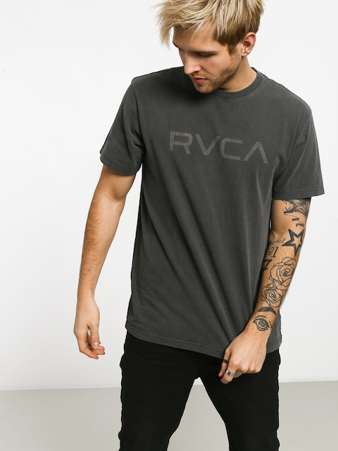 Tričko RVCA Big Rvca (pirate black)