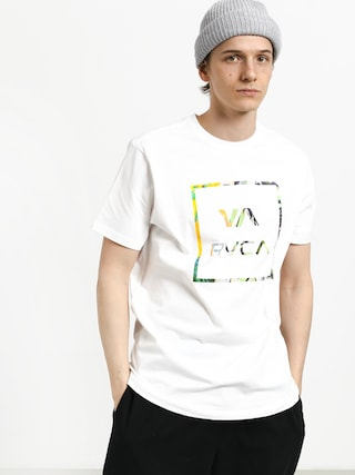 Tričko RVCA Fill All The Way (white)