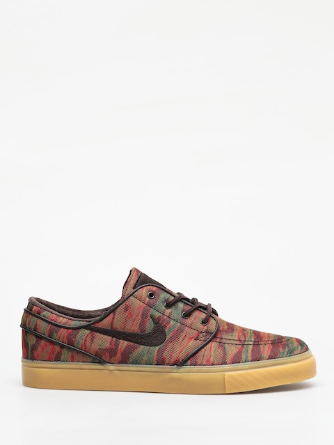 Boty Nike SB Zoom Stefan Janoski Canvas Premium (multi color/velvet brown gum yellow)