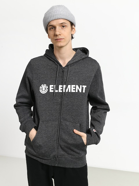 Mikina s kapucí Element Blazin ZHD (charcoal heather)
