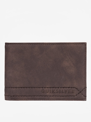Peněženka Quiksilver Stitchy (chocolate brown)