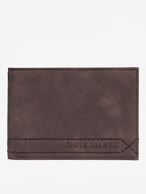 Peněženka Quiksilver Stitchy (chocolate brown)