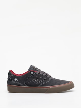 Boty Emerica The Reynolds Low Vulc (dark grey/grey/red)