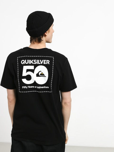 Tričko Quiksilver The Label (black)
