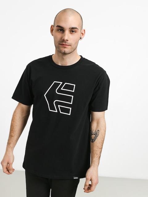 Tričko Etnies Icon (black)