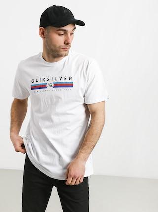 Tričko Quiksilver Get Bizzy (white)