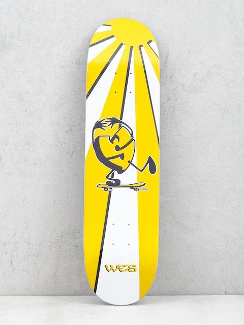 Deska Sk8Mafia Wes Kremer Rising Sun (yellow/white)