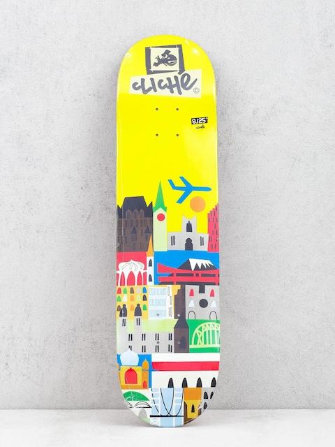 Deska Cliche Travel (yellow)