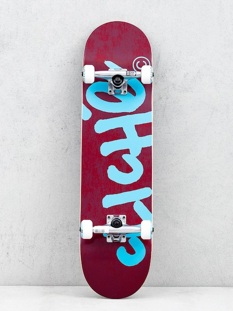 Skateboard Cliche Handwritten (red/blue)