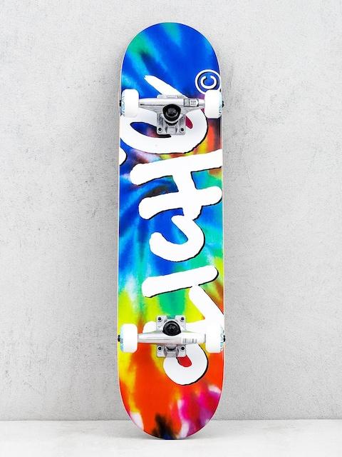 Skateboard Cliche Handwritten Tie Dye (tiedye)