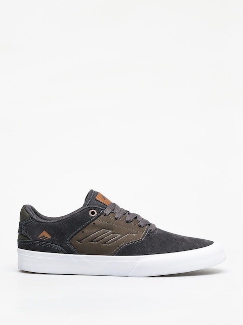 Boty Emerica The Reynolds Low Vulc (grey/green)